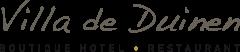 Logo van onze klant Villadeduinen