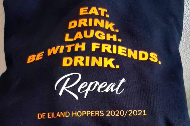 Bedrukte kleding Eiland Hoppers
