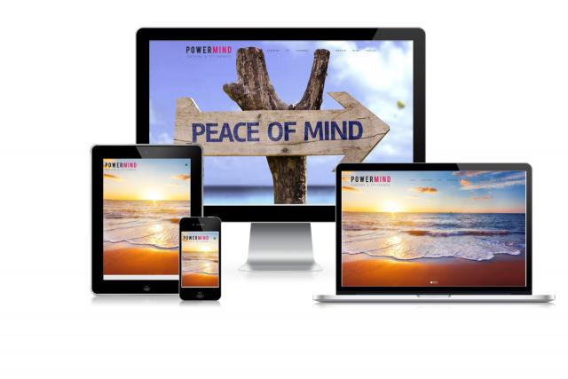 Nieuwe website voor coaching Powermind