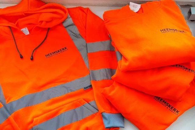 Bedrukte kleding Heemskerk Onderhoud & Services
