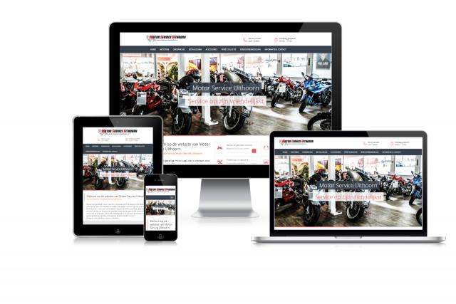 Nieuwe website Motorservice Uithoorn