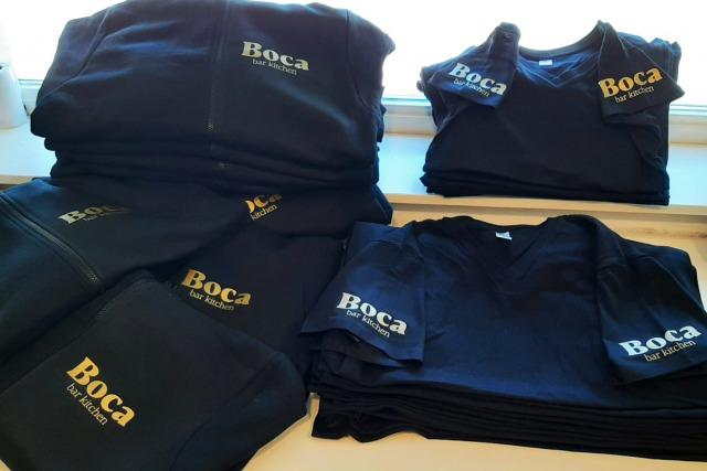 Bedrukte kleding Boca Haarlem