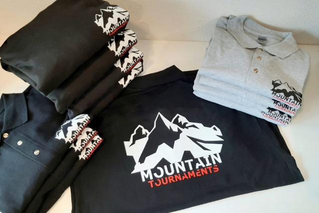 Bedrukte kleding Mountain Tournaments
