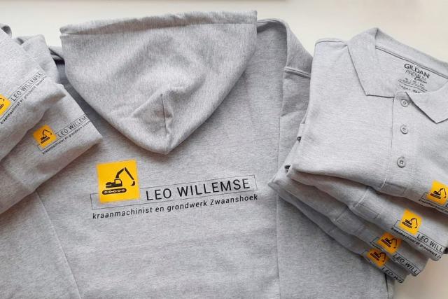 Bedrukte kleding Leo Willemse