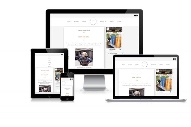 Nieuwe website Salon d'Antoinette