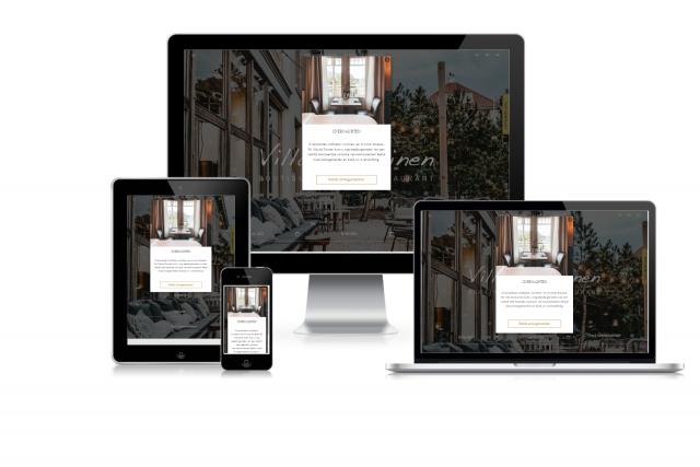 Nieuwe website van Villa de Duinen